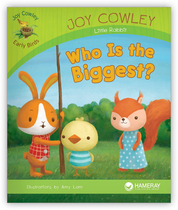 Who Is the Biggest? Leveled Book