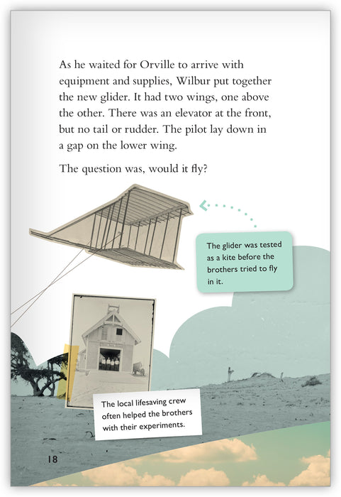 Wilbur and Orville Wright: First in Flight Leveled Book