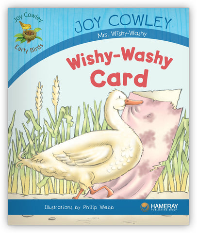 Wishy-Washy Card from Joy Cowley Early Birds
