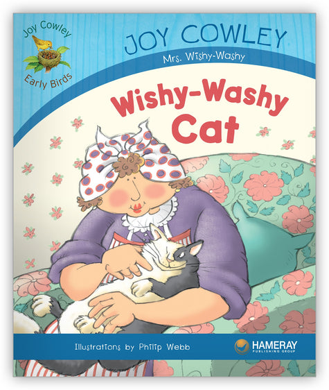 Wishy-Washy Cat Big Book from Joy Cowley Early Birds