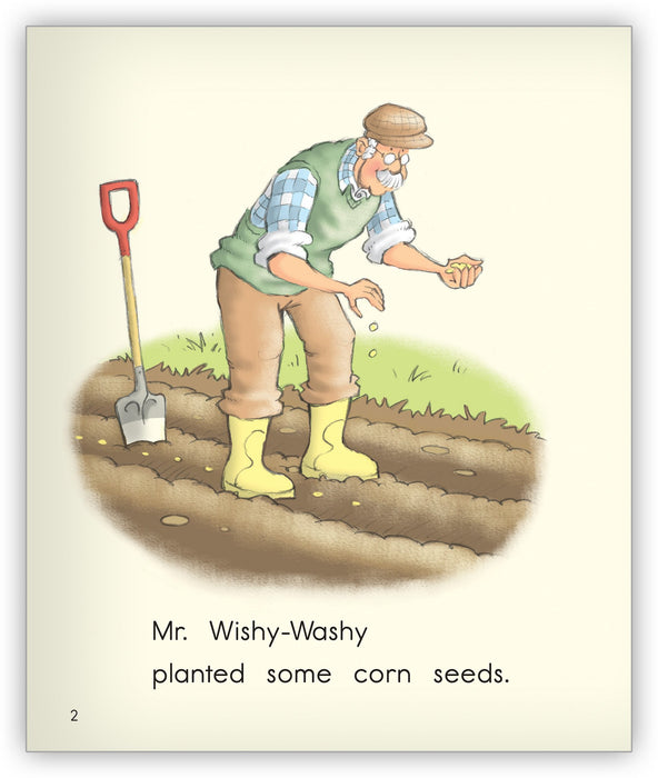 Wishy-Washy Corn Leveled Book