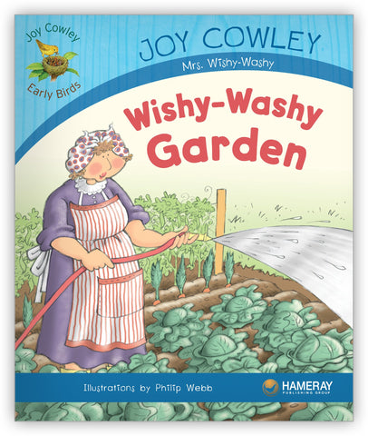 Wishy-Washy Garden Big Book from Joy Cowley Early Birds