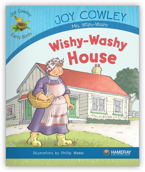 Wishy-Washy House Big Book from Joy Cowley Early Birds