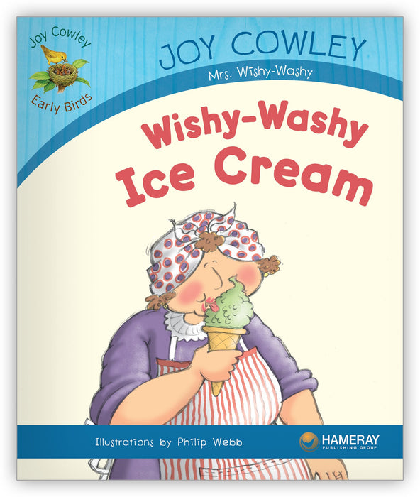 Wishy-Washy Ice Cream Big Book Leveled Book