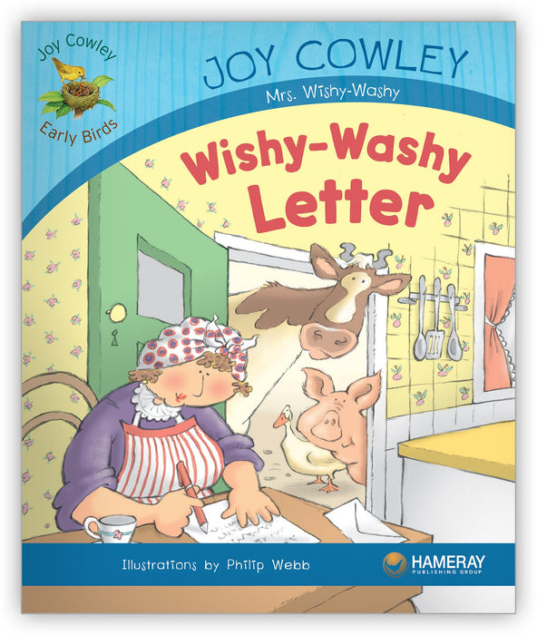Wishy-Washy Letter Leveled Book