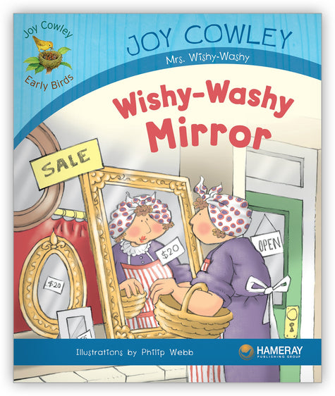 Wishy-Washy Mirror Big Book from Joy Cowley Early Birds