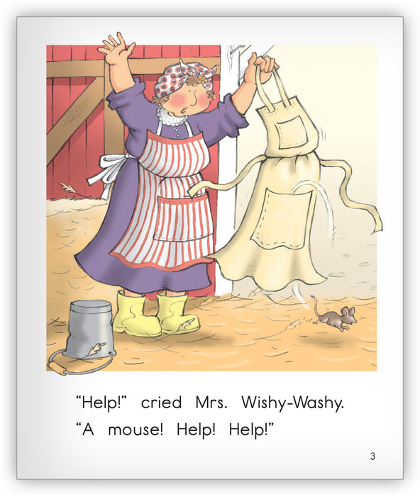Wishy-Washy Mouse Big Book Leveled Book