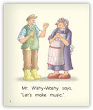 Wishy-Washy Music Big Book from Joy Cowley Early Birds