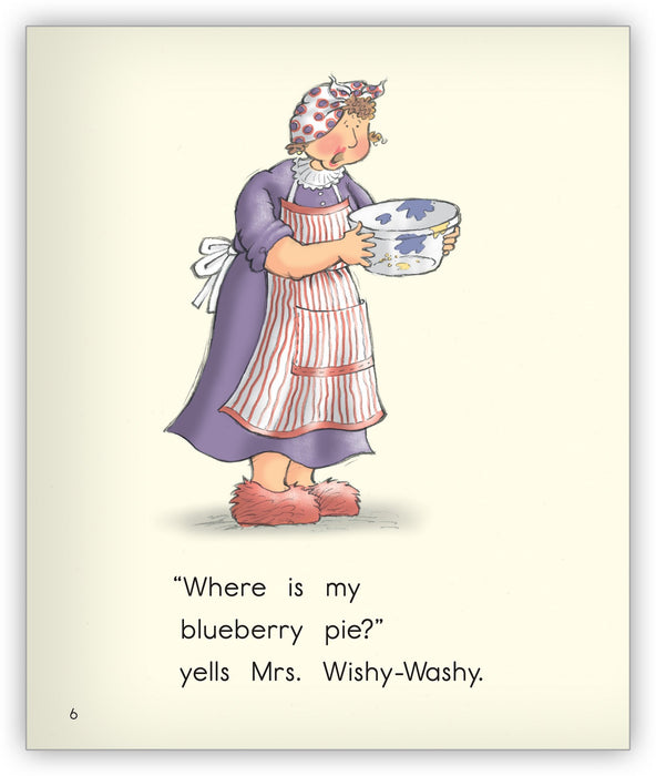 Wishy-Washy Pie from Joy Cowley Early Birds