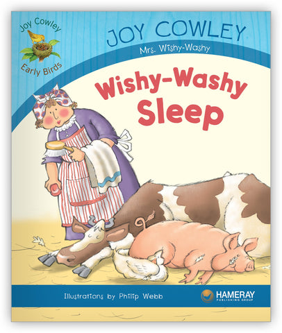 Wishy-Washy Sleep Big Book from Joy Cowley Early Birds