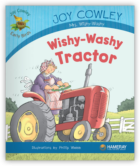 Wishy-Washy Tractor Big Book from Joy Cowley Early Birds
