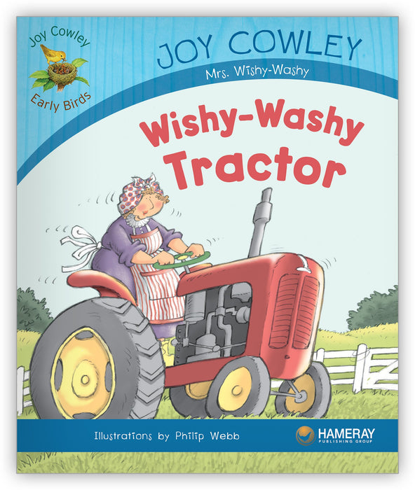Wishy-Washy Tractor Leveled Book
