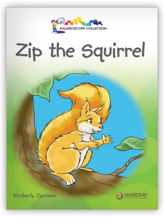 Zip the Squirrel Big Book Leveled Book