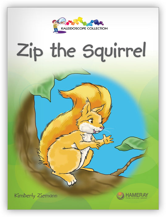 Zip the Squirrel from Kaleidoscope Collection