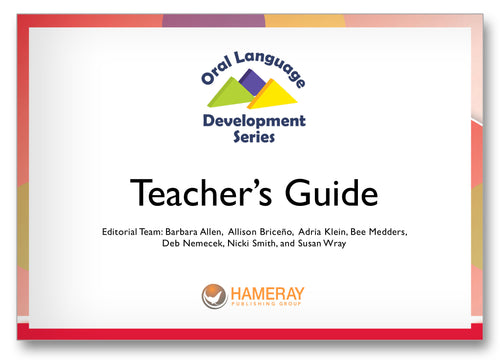 Oral Language Development Series Teacher's Guide