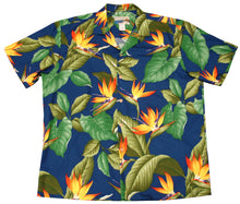 Paradise Found Hawaiian Shirts Airbrush Bird of Paradise