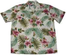 Paradise Found Hawaiian Shirts Hibiscus Fern