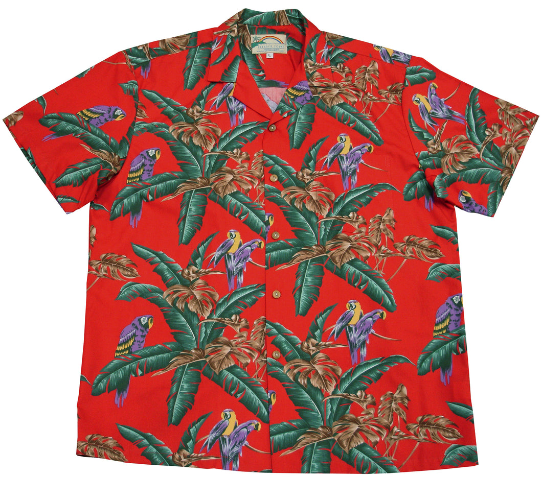 Paradise Found Hawaiian Shirts Jungle Bird Magnum, P.I.