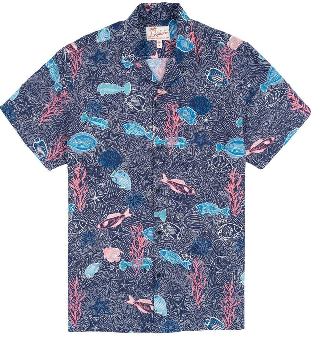 Kahala Shirts Dry Reef Navy