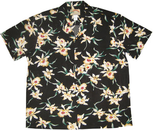 Paradise Found Hawaiian Shirts Star Orchid