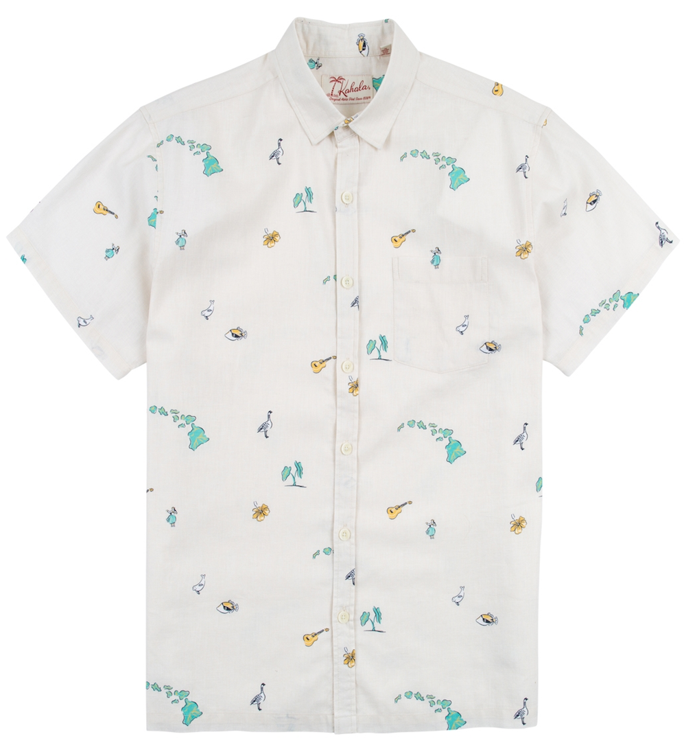 Kahala Shirts Stately Natural