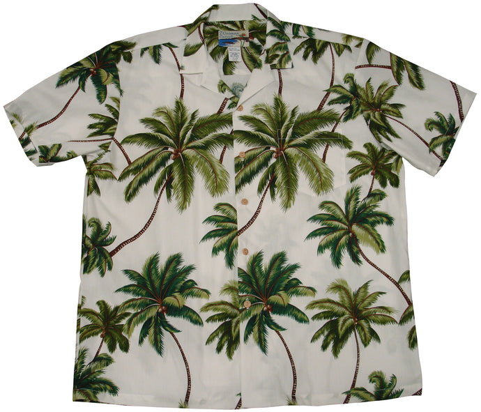 Paradise Found Hawaiian Shirts Waimea Palms