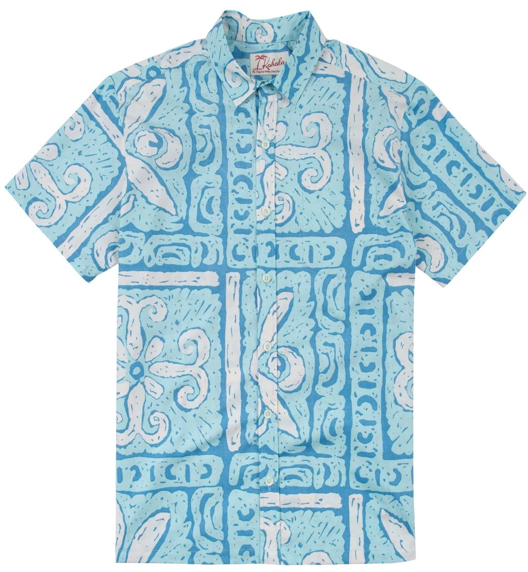 Kahala Shirts Kapa Block Surf