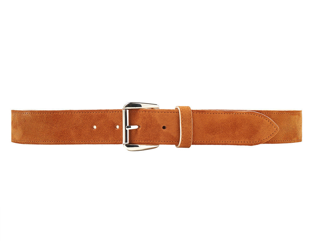 Chiltern Belt - Moroccan Flame Suede