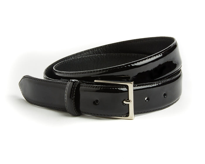 Jermyn Belt - Black Patent
