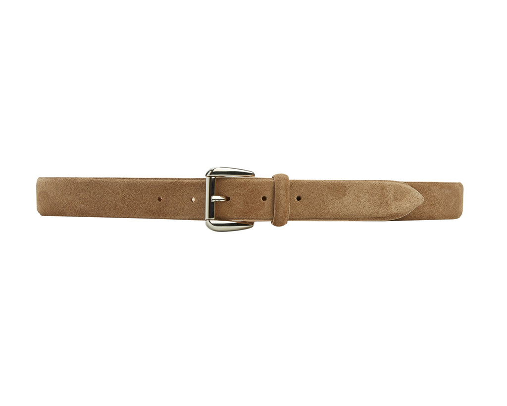 Mount Belt - Beige Suede