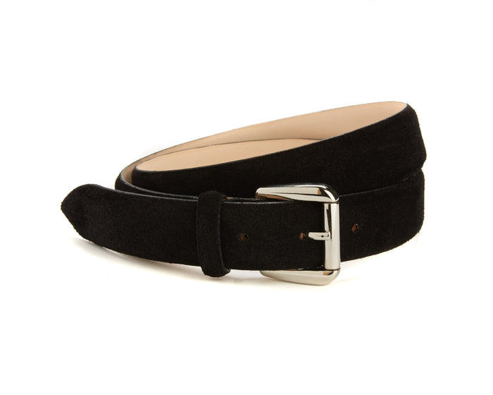 Mount Belt - Black Suede