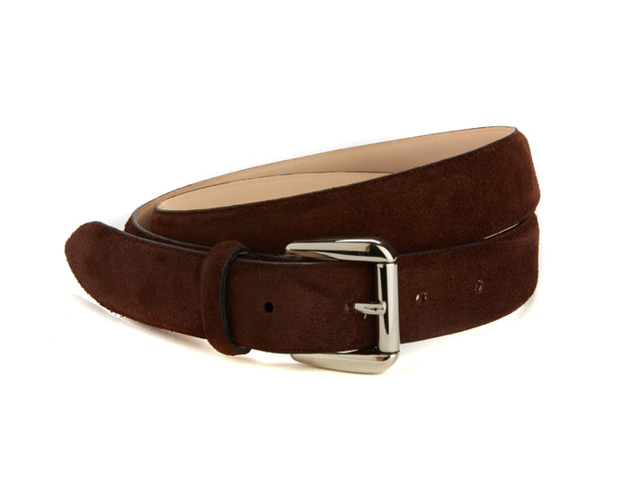 Mount Belt - Brown Suede