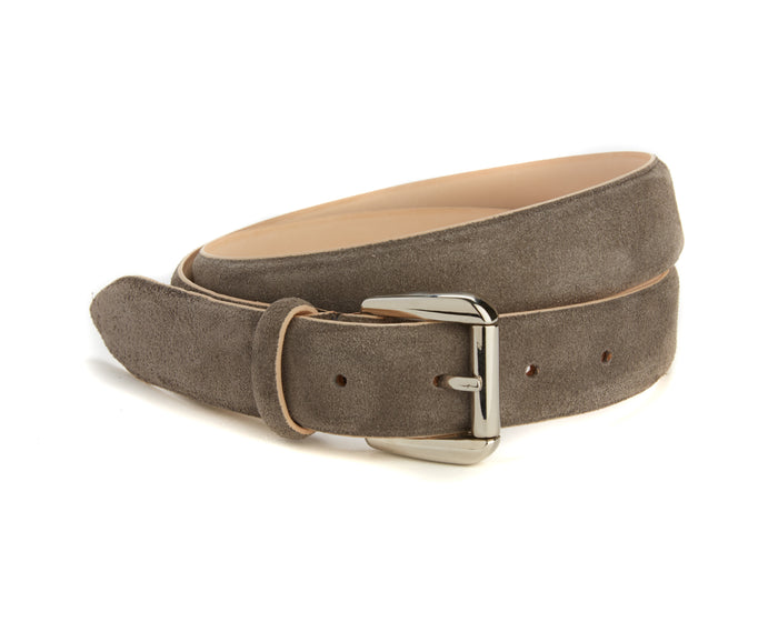 Mount Belt - Grey Suede