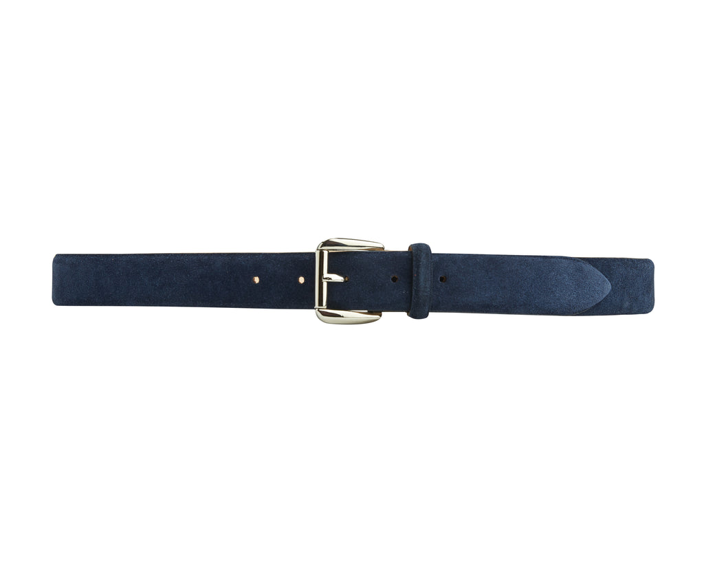Mount Belt - Navy Suede