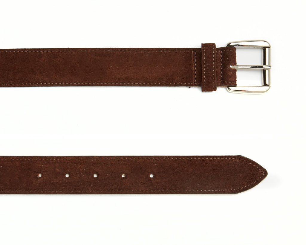 Chiltern Belt - Brown Suede