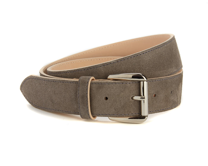 Chiltern Belt - Grey Suede