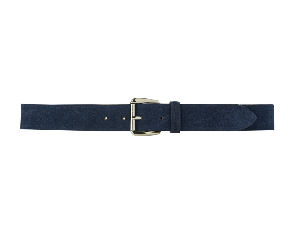Chiltern Belt - Navy Suede