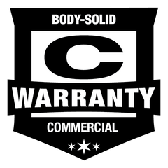 Body-Solid Commercial Rated Warranty