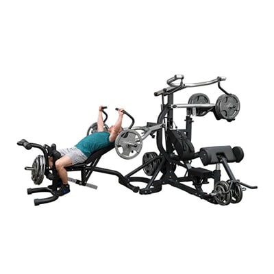 Body-Solid Free Weight Leverage Gym SBL460P4