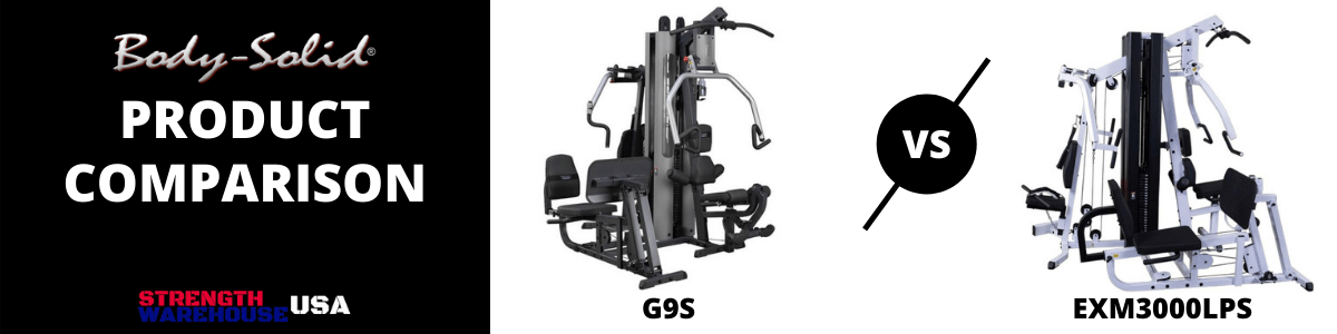 Body-Solid G9S vs Body-Solid EXM3000LPS Home Gym Comparison