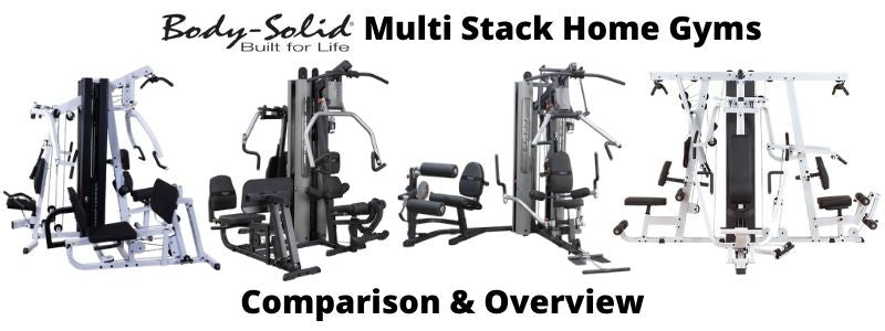 Body-Solid Multi Stack Home Gyms Overview