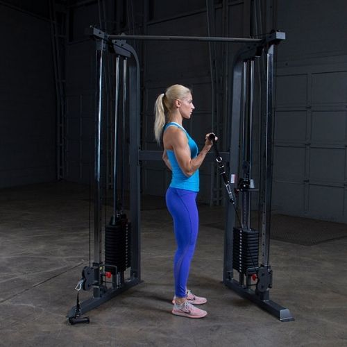 Single Arm Bicep Curl with Handle