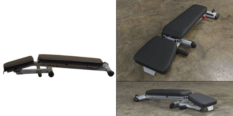 Powerline PFID125X vs Body-Solid GFID225 Folding Benches