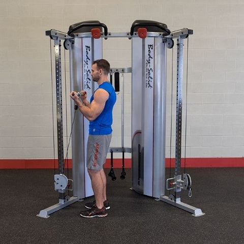Standing Bicep Curl with Short Bar