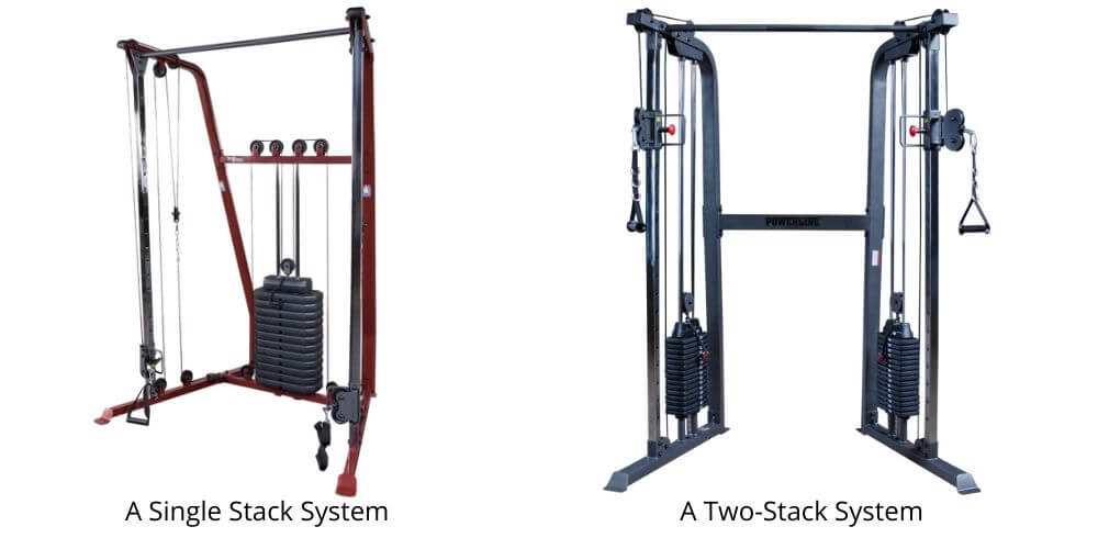 Single Stack vs Two Stack Functional Trainer