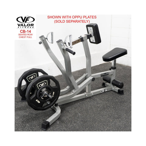 Valor Fitness CB-14  Seated Row / Chest Pull with Oppu Plates