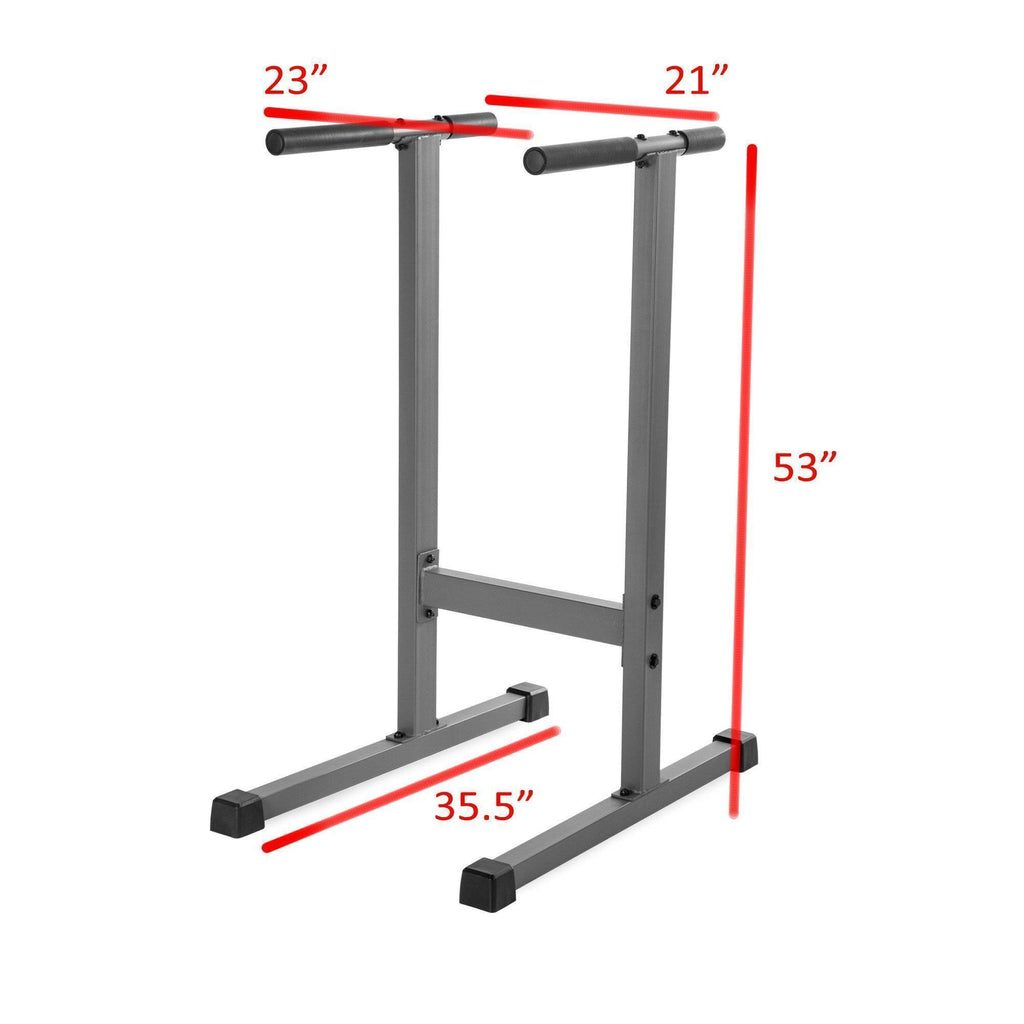 XMark Fitness Dip Stand With Angled Uprights XM-4443