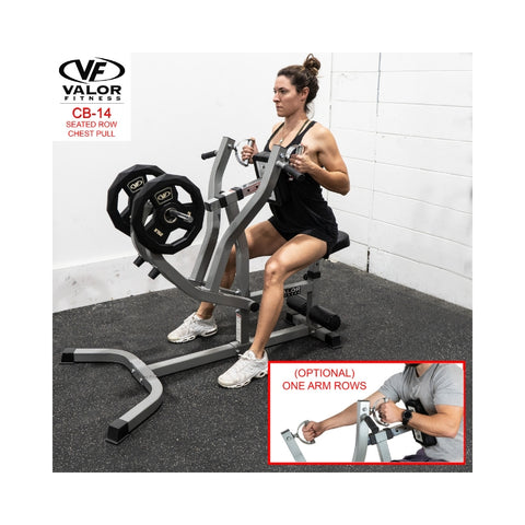 Valor Fitness CB-14  Seated Row / Chest Pull One Arm Rows
