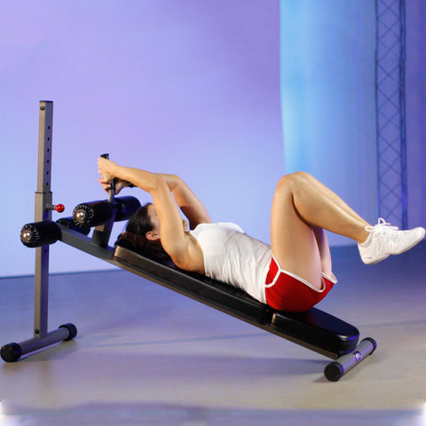 Image of XMark Fitness 12 Position Adjustable Sit-Up Ab Bench XM-7608