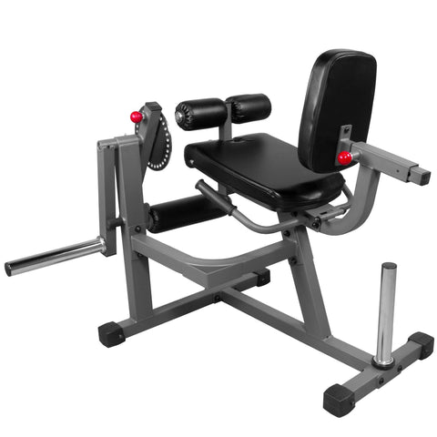XMark Fitness Adjustable Rotary Leg Extension and Curl Machine XM-7615